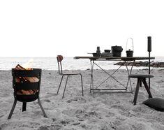 Přenosné ohniště (koš na oheň) Fire Basket od Menu | DesignVille