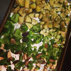 It's #MeatlessMonday! Get your roasted veggies on!