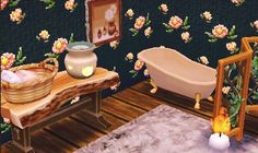 || Petite salle de bain dans le style un peut vieillit mais chaleureux