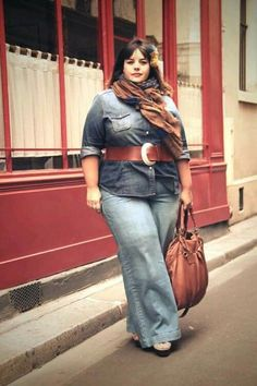 Women's Plus Size Fall Look