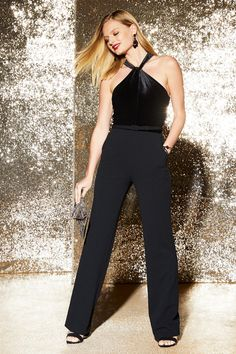 a158d8ecb76 Get ready to leave a lasting impression in this stunning jumpsuit