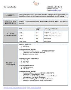 Free Curriculum Vitae Template Word Download CV Template