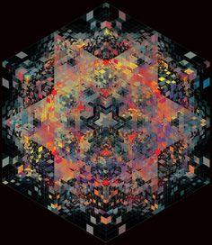 Andy Gilmore, arte caleidoscópico on http://www.freshlandmag.com