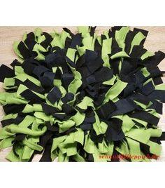 Schnüffelteppich grün/schwarz
