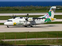 ATR ATR-42-500 aircraft picture. Air Antilles Express ATR ATR-42-500 Willemstad / Curacao - Hato (CUR / TNCC) Curacao, December 25, 2013