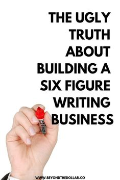 The Brutal Truth About Growing a Six Figure Freelance Writing Business Make More Money, Ways To Save Money, Money Tips, Finance Blog, Finance Tips, Best Budgeting Tools, The Ugly Truth, Budget Template, Managing Your Money