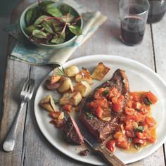 Want a valentines meal for two idea or starters for dinner party idea? This steak recipe is perfect. Whether it is a romantic recipe or a weekday dinner then this steak dinner idea is ideal.