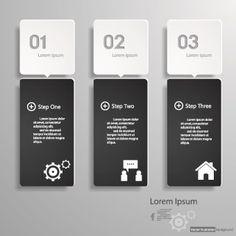 Business Infographic creative design 860 vector
