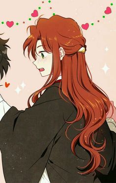 Couple Anime Harry Potter part 2