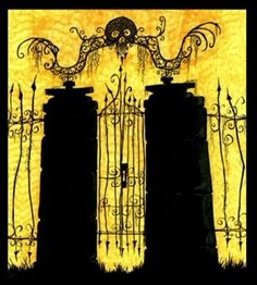 gate in nightmarebefore christmas - Google Search
