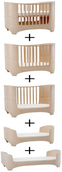 Leander Cot bed so chic beautiful design from Just Add Baby www.justaddbaby.co.uk