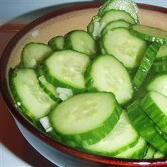 Mom's Cucumbers Allrecipes.com
