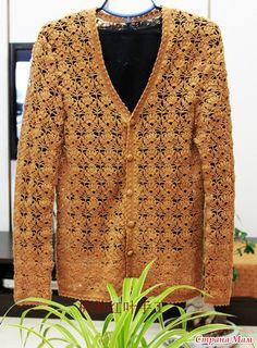 crochet lace cardigan for lady, crochet pattern crochet beauty flower stitch for fashion Gilet Crochet, Crochet Jacket, Crochet Cardigan, Diy Crochet, Crochet Stitches, Stitch Patterns, Crochet Patterns, Lace Cardigan, Crochet Fashion