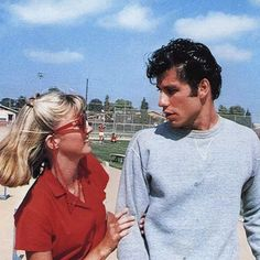 sandy & danny in Grease