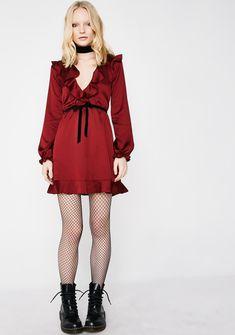 For Love & Lemons Bette Open Back Mini Dress