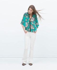 Zara kimono blouse 2015