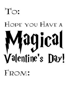 Harry Potter Valentines (Plus Hermione, Ron, and Ginny) - Free Printable