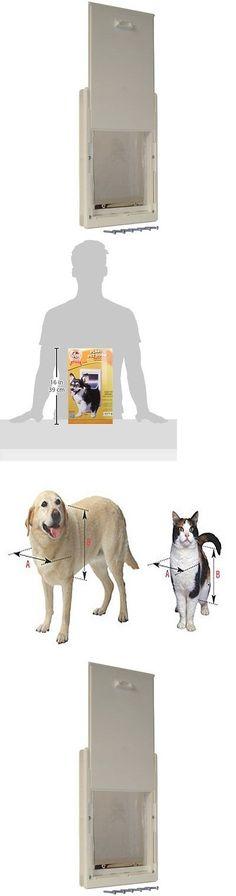Doors And Flaps 116379 Petsafe Plastic Dog Pet Door X Large
