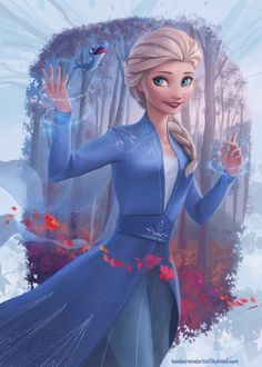 25 Stunning Digital Art works and Digital Paintings for you Frozen Pictures, Disney Pictures, Disney Princess Frozen, Elsa Frozen, Disney Sketches, Disney Drawings, Frozen Fan Art, Jelsa, Disney Crossovers