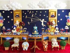 """Festa com tema """"O pequeno príncipe"""" linda ⭐️ Por :: @lalapetit #FestaOPequenoPríncipe #FestaInfantil ..."""