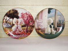 Precious Moments Porcelain Plates Hamilton by MuzettasWaltz
