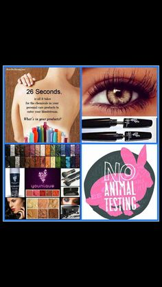 Younique is cruelty free! What are you putting into your body? All Younique products are naturally based! https://www.youniqueproducts.com/NicoleBlanchard