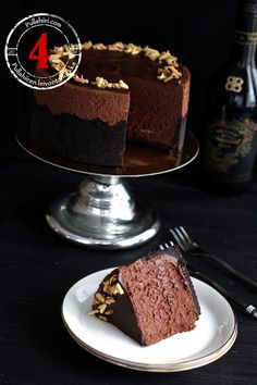 Pullahiiren leivontanurkka: Joulukalenteri - Luukku 4: Baileys-suklaamoussekak...