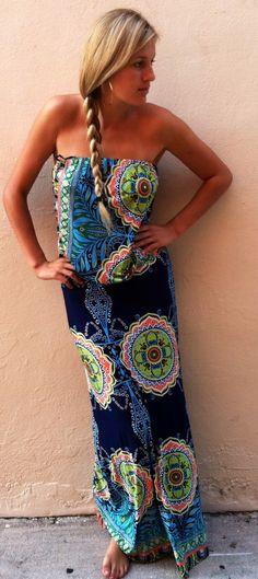 The Preppy maxi dress