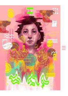 selected illustration works by wildan ilham, via Behance