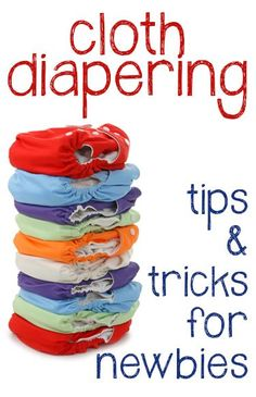 I'm on the fence about cloth diapering - but this a good article on how to do it. how to wash cloth diapers, saving money on cloth diapering and benefits of cloth
