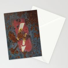 Old Iron Stationery Cards by Rainer Steinke | Society6 old rusty iron paint #old #rusty #iron #paint