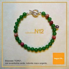 hagar'sdesign - gioielli e accessori: Collezione N12 - Bracciali con pietre dure - Linea...