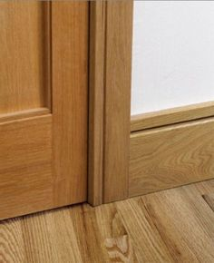 shaker style skirting board and door architrave The Effective Pictures We Offer You About jean Skirt A quality picture can tell you many things. You can find the most beautiful pictures that can be pr Stairs Skirting, Skirting Boards, Architrave, Coving, Door Casing, Shaker Doors, Modern Windows, Grand Designs, Wood Trim