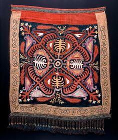 Antique Kirgiz embroidery, tent decoration.