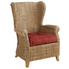 Graciosa Wing Chair - Natural | Pier 1 Imports