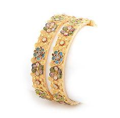 Indian Gold Bangles :  fashion accessory bangles design fashion accessories