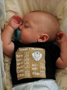 The nerdy offspring, Level 1 Human