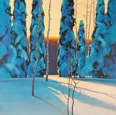 Special Gallery: The Landscape in Acrylic - Artist's Network