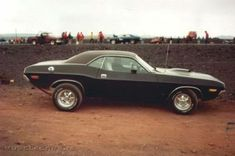 '70 Challenger R/T in typical early '70's form. Wish I knew what was under the shaker.