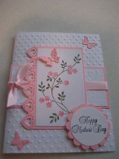 Stampin Up Mothers Day Card Kit with Envelopes | eBay