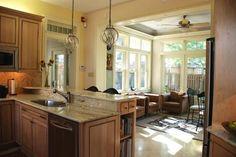 enclosed porch off kitchen - Google Search