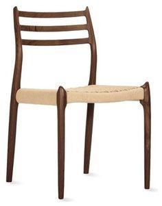 J.L. Moller teak chair #78 - with cording