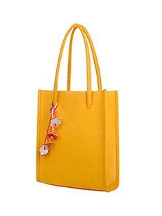6171d4abce Elogoog Handbags for Women Tote Shoulder Bags PU Leather Top Handle Purse  Medium Size