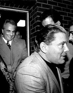 Sammy the Bull Originally a mobster for the Colombo crime family and later for the Brooklyn faction of the Gambinos Gravano participated in the conspiracy to murder Gambi. Real Gangster, Mafia Gangster, Colombo Crime Family, Mafia Crime, Mafia Families, Al Capone, The Godfather, Mug Shots, Gangsters