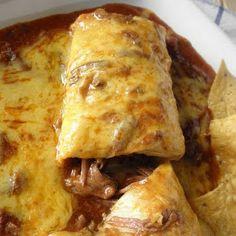 CHRISTINA'S : Crockpot Chile Colorado Burritos