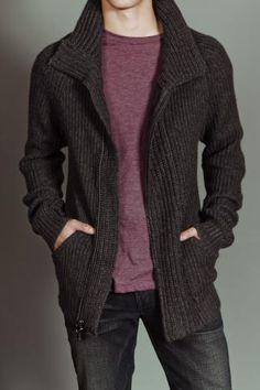Julian Zip Up Sweater