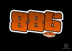 886 rider number