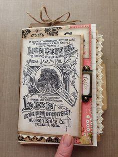 Paper bag junk journal More