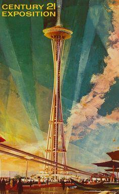 Century 21 Exposition - 1962 Seattle World's Fair