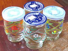 英君 フラワーカップ Japanese Sake, Beverage Packaging, Bottle Design, Package Design, Lovely Things, Glass Bottles, Shot Glass, Alcohol, Kawaii